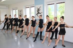 Baletní třídy naší školy 2020
