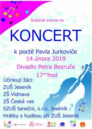 Koncert k poctě Pavla Jurkoviče 2019
