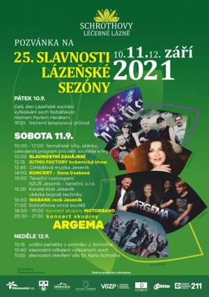 Lázeňské slavnosti v Lipové 2021