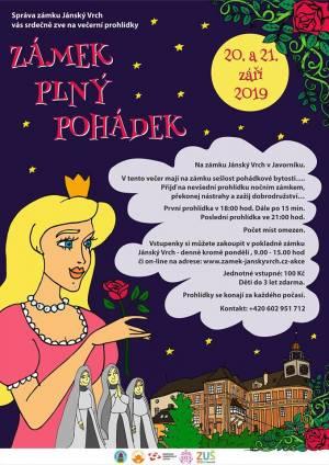 Pohádkový zámek Javorník 2019